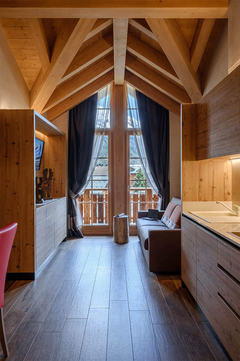 Chalet bellavista design apartments livigno for Appartamenti di design